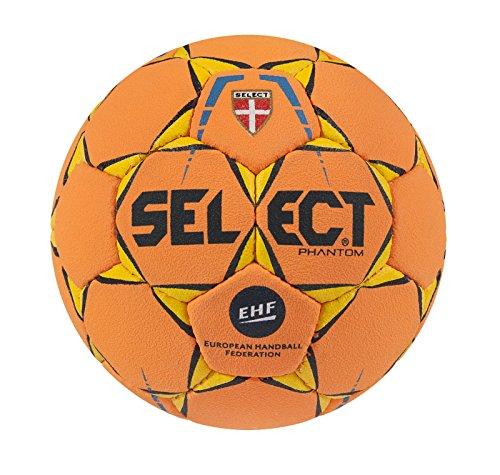 SELECT Phantom Balón de Balonmano, Unisex Adulto, Naranja, 1