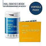tri.balance Basentabletten Classic 225 Stück - 1er Pack inkl. 55 pH-Teststreifen - E-Book...