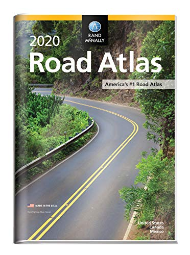 RM 2020 ROAD ATLAS W/VINYL PRO (Rand McNally Road Atlas United States/ Canada/Mexico (GIFT EDITION))