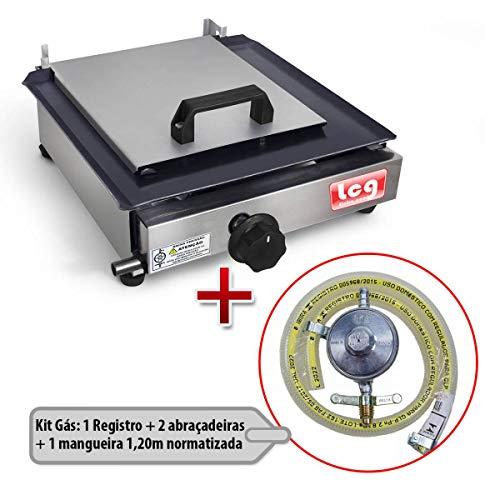 Chapa de Lanche a Gás Sanduicheira - LCG Eletro