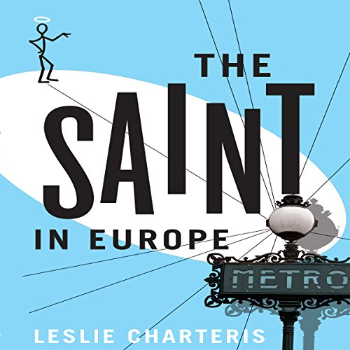 The Saint in Europe audiobook cover art