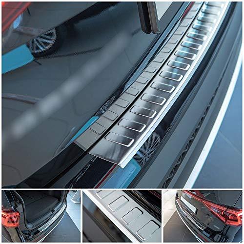 tuning-art L370 Protección para Parachoques Acero INOX, Color:Plata