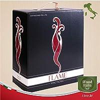 vino 4x bag in box 3 lt vino rosso igt umbria 2019 sangiovese 13,5% vol. 12 lt ifood italia made in italy