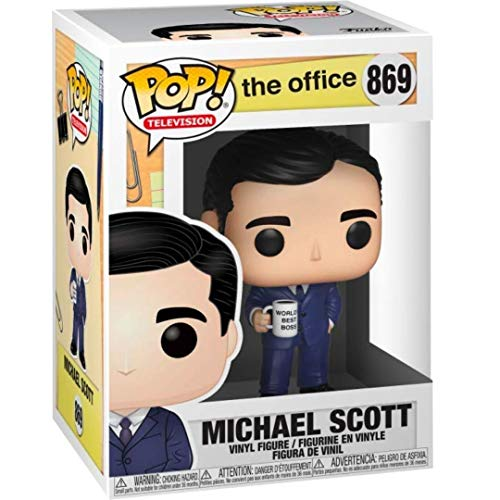 POP OFFICE MICHAEL SCOTT VINYL