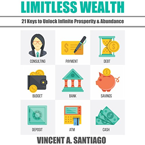 Limitless Wealth: 21 Keys to Unlock Infinite Prosperity & Abundance audiobook cover art