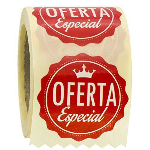 ETINOVA RPO 001 - Etiquetas adhesivas, pegatinas, stickers, Rebajas, ofertas, descuentos, Black Friday -