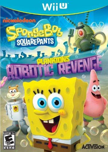 Activision SpongeBob SquarePants: Plankton's Robotic Revenge Basic Wii U Inglese videogioco
