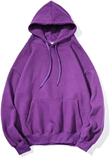Howely Men's Drawstring Oversized Pockets Relaxed-Fit Hooded Sweatshirt