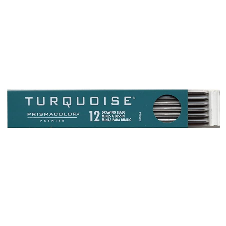 Prismacolor Turquoise 2mm Lead, 12 Count