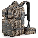 Gelindo Military Tactical Backpack, Army Molle Bag, Assault Backpacks, Small Rucksack for Hunting,...