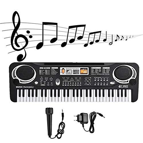 Piano de teclado eléctrico, Mini piano eléctrico Piano eléctrico, Mini piano eléctrico...