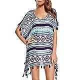 Chalier Pareo Playa Mujer, Traje de Baño Encubrimientos Camisolas Playa Ropa Vestido Playa Mujer