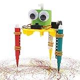 HshDUti DIY Nettes Gekritzel Zeichnungs Roboter Modell