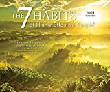 The 7 Habits of Highly Effective People 2021 6.125 x 5.125 Inch Daily Desktop Box Calendar, Self Help Improvement