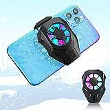 Laelr Upgrade Radiador de enfriamiento del teléfono Enfriador de teléfono móvil portátil Ventilador Controladores de Juegos para teléfonos Disipadores térmicos para teléfonos móviles