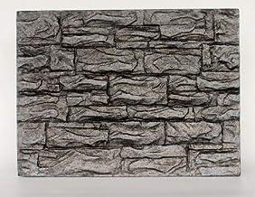 NomoyPet Aquarium Decoration 3D Foam Rock Reptile Stone Aquarium Background Board Backdrop NFF-41 (B)