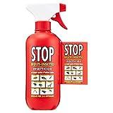 Stop Multi-Insetto, Insetticida - 6 pezzi da 375 ml [2250 ml]...