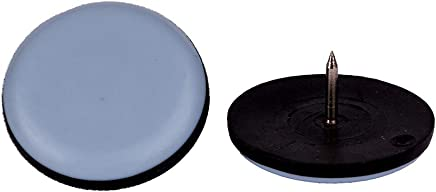 Lot de 16 Teflon 50 x 50 mm Meubles patins I autocollant I avec rev/êtement PTFE I /échelle Chaise Patins