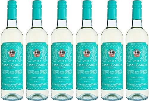 6x 0,75l - Casal Garcia - sweet - Vinho Verde D.O.C. - Portugal - Weißwein süß