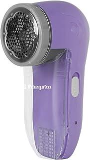 Orbegozo QP 6500 - Quita pelusas eléctrico recargable, rejilla y cuchillas INOX, recipiente desmontable, botón encendido/apagado, 5 W de potencia