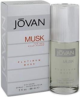 Jovan Platinum Musk Spray Eau de Cologne for Men 88ml