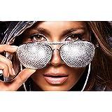 MXIBUN Poster Und Drucke Jennifer Lopez Star Wandkunst