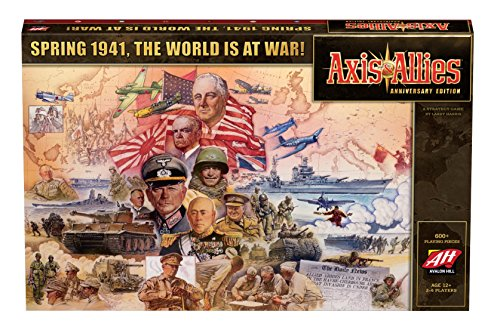 Avalon Hill / Wizards of the Coast C39720000 Axis en Allies Anniversary Edition - Engels, spel