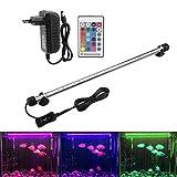 Illuminazione per Acquario LED Aquarium Light Colorato Sommergibile Luci Resistente Calore...