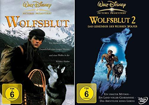 Wolfsblut + Wolfsblut 2: Das Geheimnis des weißen Wolfes (2-DVD)