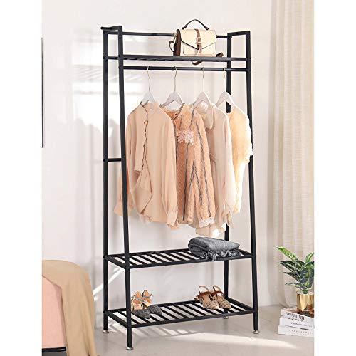 XI FA Clothing display rack Stand - Vintage Coat Stand- Clothes Hat Rack Shelf Shoe Storage Rack Coat Rack with Shoe Rack Home Office Hallway Bedroom Marble Iron Coat Rack Home Umbrella Stand