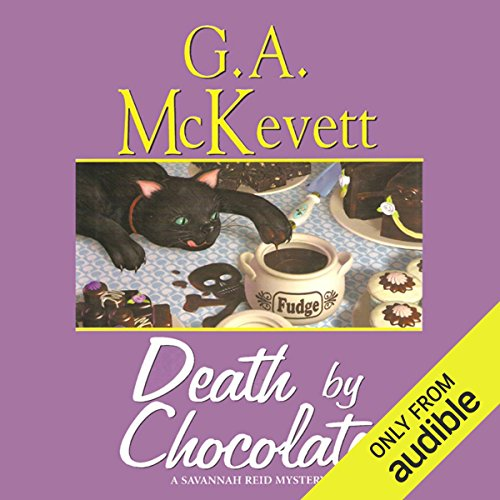 Death by Chocolate audiobook cover art