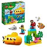 LEGO10910DuploTownAventuraenSubmarinoJuguetedeConstrucciónparaNiñosyNiñas+2añoscon2MiniFiguras