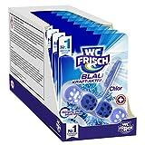 WC FRISCH Blau Kraft-Aktiv überzeugt neben der neuen Blauspüler-Technologie mit der bewährten 4-fach Aktivstoff-Kombination Die 4-fach Aktivstoff-Kombination reinigt Ihre Toilette, verhindert Kalkablagerungen, ist zuständig für Extra Frische und sorg...