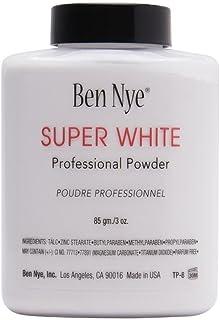 Ben Nye Super White Translucent Face Powder, 3 Oz Shaker Jar