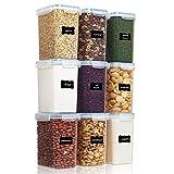 Vtopmart 2L Recipientes para Cereales Almacenamiento de Alimentos, Jarras de...
