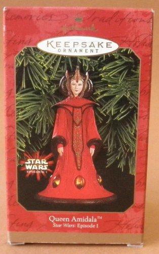 Hallmark Keepsake Queen Amidala Star Wars: Episode I Christmas Tree Ornament Decoration