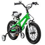 RoyalBaby Kids Bike Boys Girls Freestyle BMX Bicycle with Training...
