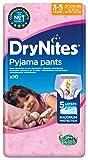 Huggyie Huggies DryNites Girl hochabsorbierende Pyjamahosen Unterhosen für Mädchen 3-5 Jahre, 3er Pack (3 x 10 Stück)