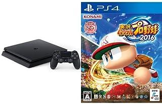 PlayStation 4 ジェット・ブラック 1TB (CUH-2000BB01) + 実況パワフルプロ野球2016 (特典なし) - PS4