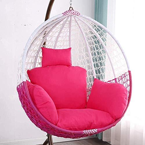 Thicken Hanging Egg Hamaca Almohadillas para sillas Acolchado Impermeable para Asiento de Silla para Patio Jardín Columpio Cesta Colgante Almohadillas para Asiento a (Color: M, Tamaño: 90x90