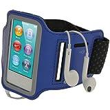 igadgitz U2045 Reflektierende Anti-Rutsch Neopren Sports Armband Oberarmtasche Kompatibel mit Apple...