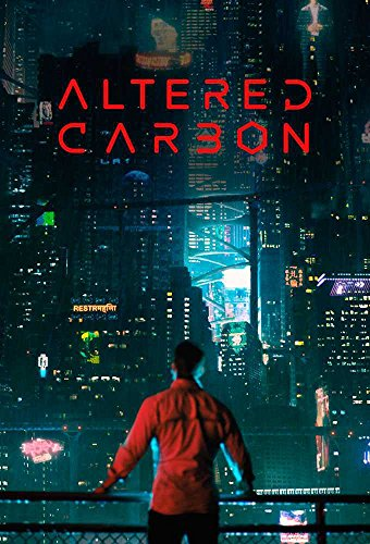 Altered Carbon Takeshi Kovacs Joel Kinnaman TV Series 12 x 18 Inch Poster Unframed Rolled