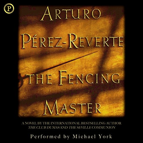 The Fencing Master audiobook cover art