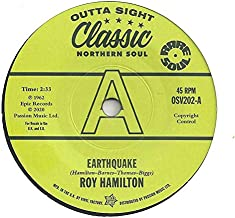 """Earthquake / It Hurts Too Much To Cry - Roy Hamilton (5), H.B. Barnum 7"""" 45"""