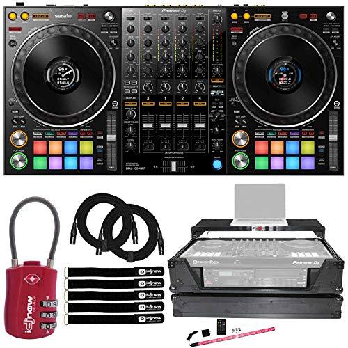 Learn More About Pioneer DDJ-1000SRT 4 Channel DJ Controller for Serato Pro w 2U Case & TSA Lock