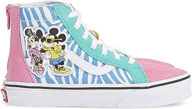 Amazon.com: Vans x Disney 90th Anniversary Sk8-Hi Zip - Zapatillas ...