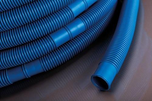 Pondlife Pool- und Schwimmbadschlauch blau, Durchmesser 32 mm, Gesamtlänge 6 Meter inkl. Muffen