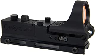 C-MORE Systems Tactical Railway Red Dot Sight with Click Switch