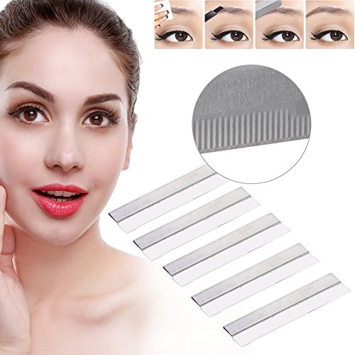 100 piezas / juego de afeitado para mujer, maquillaje de cejas, cuchilla de afeitar, afeitadora y afeitadora