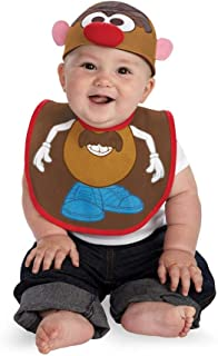 Disguise Drool Over Me Hasbro Mr Potato Head Infant Bib and Hat Costume